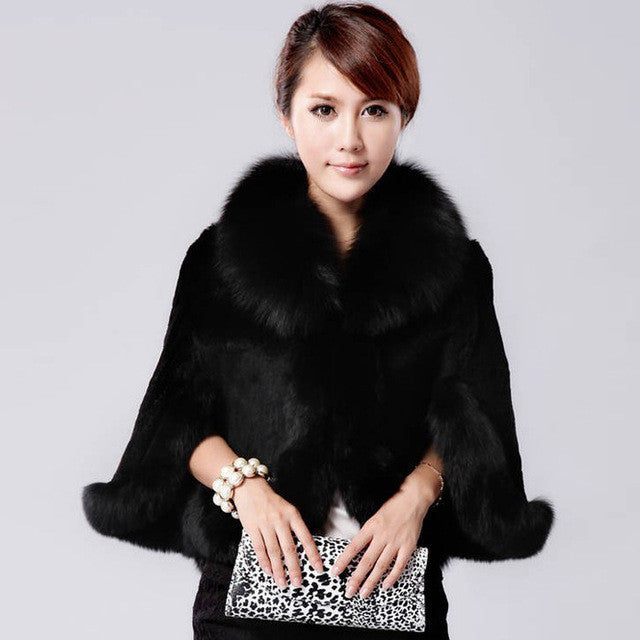 Elynn Faux Fur Coat (More Colors Available) - Rated Star