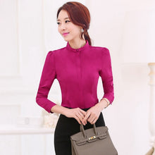Alissa Long-Sleeve Blouse (More Colors Available) - Rated Star
