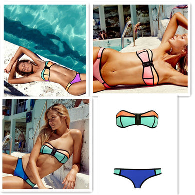 Shelly Swimsuit Bikini (More Colors Available) - Rated Star