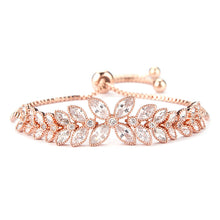 Crystal Zircon Adjustable Bracelet (More Colors Available)