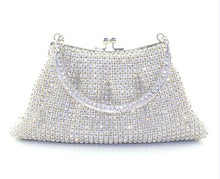 Crystal Metal Frame Purse (More Colors Available) - Rated Star