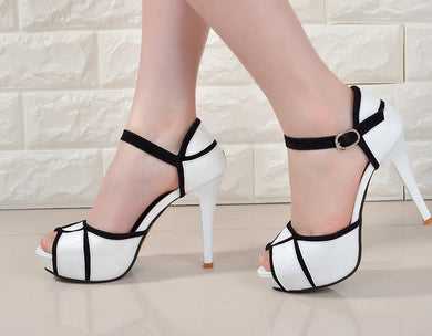 Block Color Heels (More Colors Available) - Rated Star