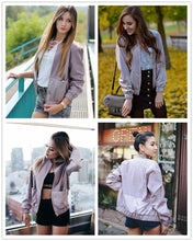 Pocket Zipper Front Stand Collar Long Sleeve Jacket - Rated Star