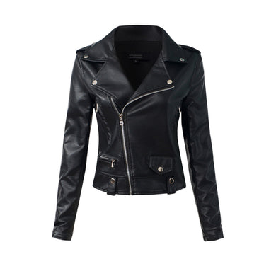 Classic Zipper Motorcycle Jacket