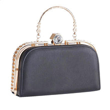 Rhinestone Crystal Clasp Purse (More Colors Available) - Rated Star