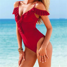 High Cut One Piece Swimsuit (More Colors Available) - Rated Star