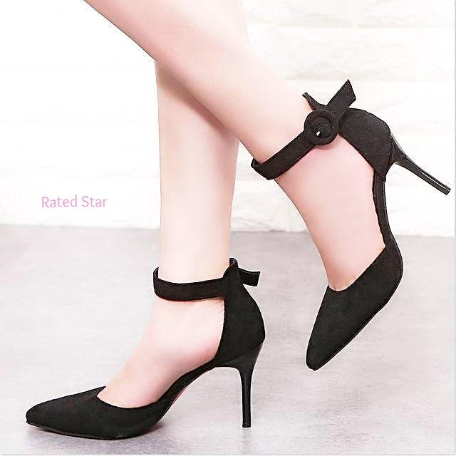 Tifany Cute Pointed Toe High Heels (More Colors Available)