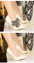 Diana Bow Tie Heels (More Colors Available) - Rated Star