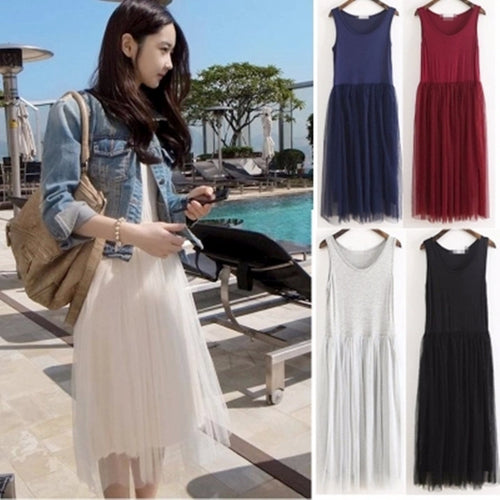 Tulle Summer Dress (More Colors Available)