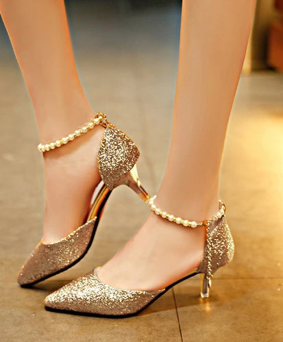 Stephani Pearl Heels (More Colors Available) - Rated Star