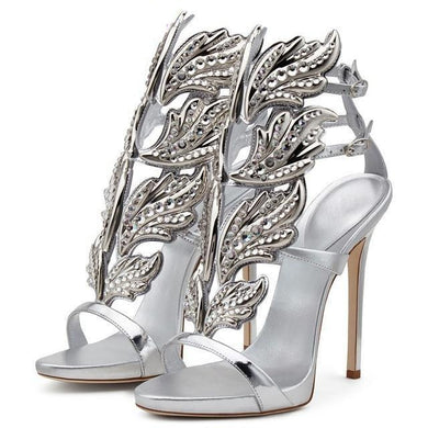 Angelina Crystal Heels (More Colors Available) - Rated Star