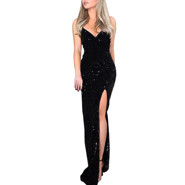 Strapless Sequins Dress - Rated Star