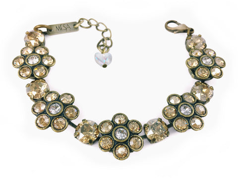 Shasta Antique Brass Obsession Bracelet