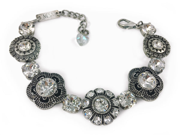 Jewelry for Real Estate Professionals. Bracelet from Mesa Jewelry's Real Estate fashion collection featuring Swarovski crystals. Obsession Collection.