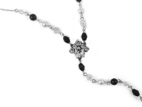 Princess HOUSE Necklace, Black Pearl