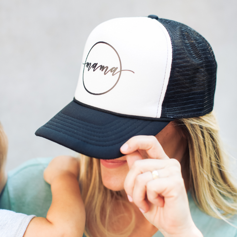 PRE-ORDER Mama Circle Trucker Hat