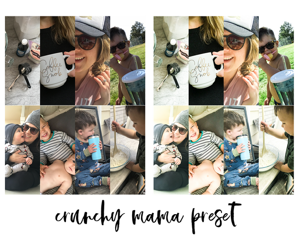 Lightroom Mobile Preset - Crunchy Mama