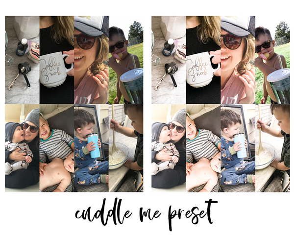 Lightroom Mobile Preset - Cuddle Me