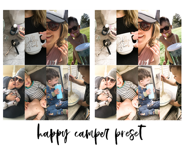Lightroom Mobile Preset - Happy Camper