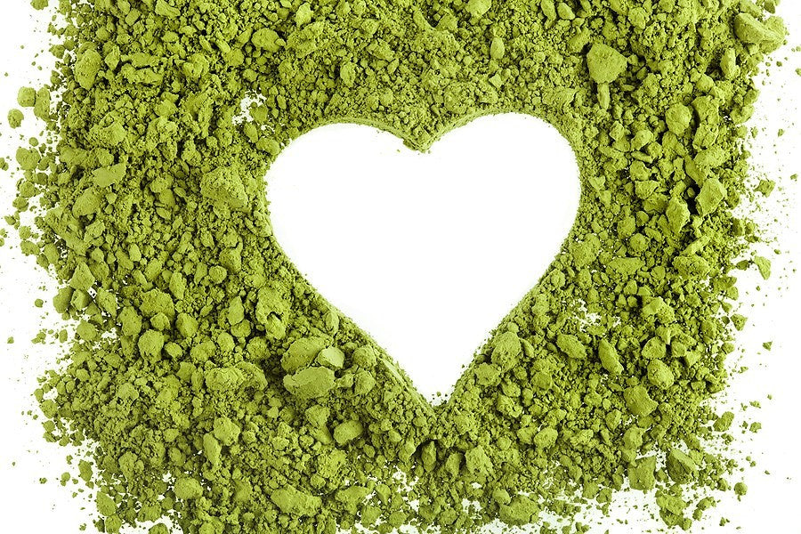 Tea Parky Matcha Green Tea Powder Heart