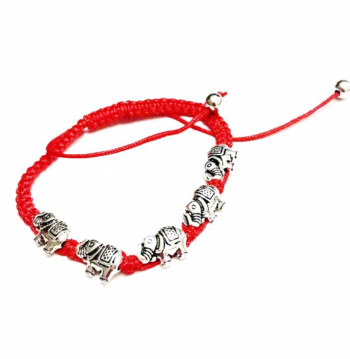 products save elephant animals bracelet