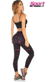Rottendam - Active-wear Legging Printed