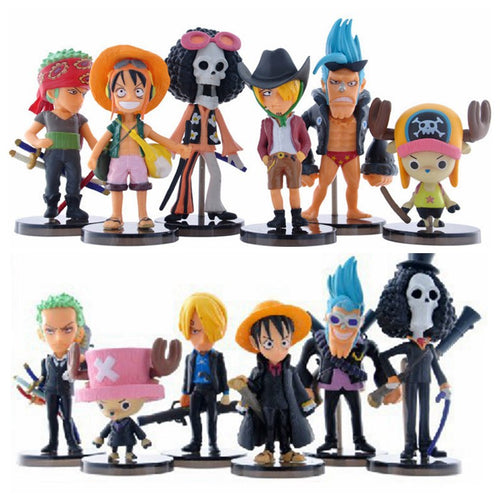 Kit com 12 Peças  One Piece - Top Fanaticos