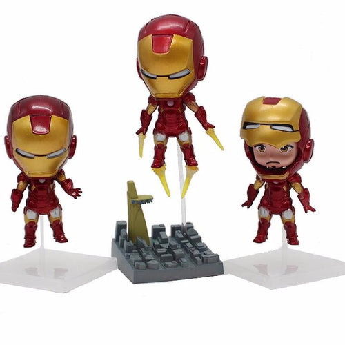 The Avengers Iron Man KIT com 3 peças - Top Fanaticos