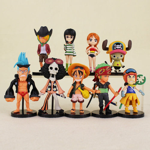 Kit com 9 peças  One Piece - Top Fanaticos