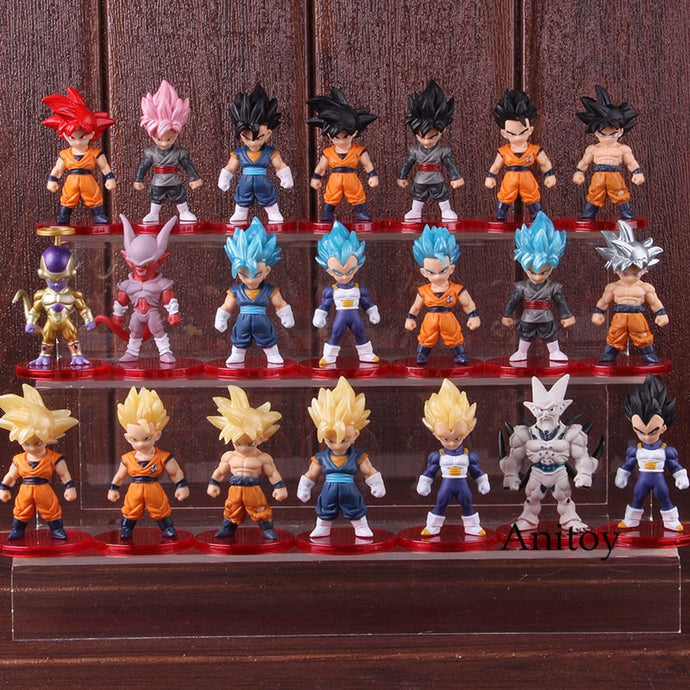Kit com 21 peças  Dragon Ball - Top Fanaticos