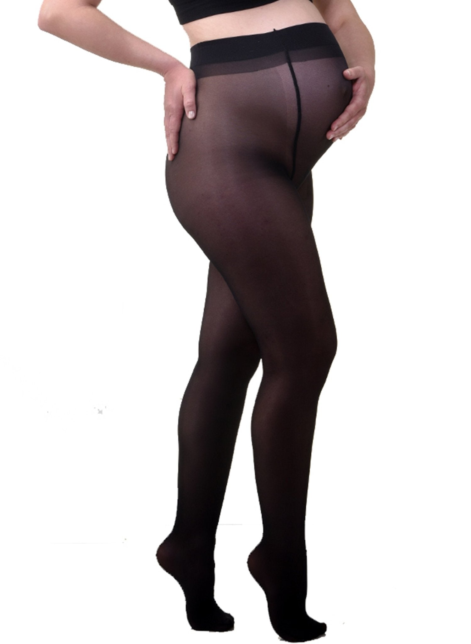 20Den Maternity Tights - Black - Mums and Bumps