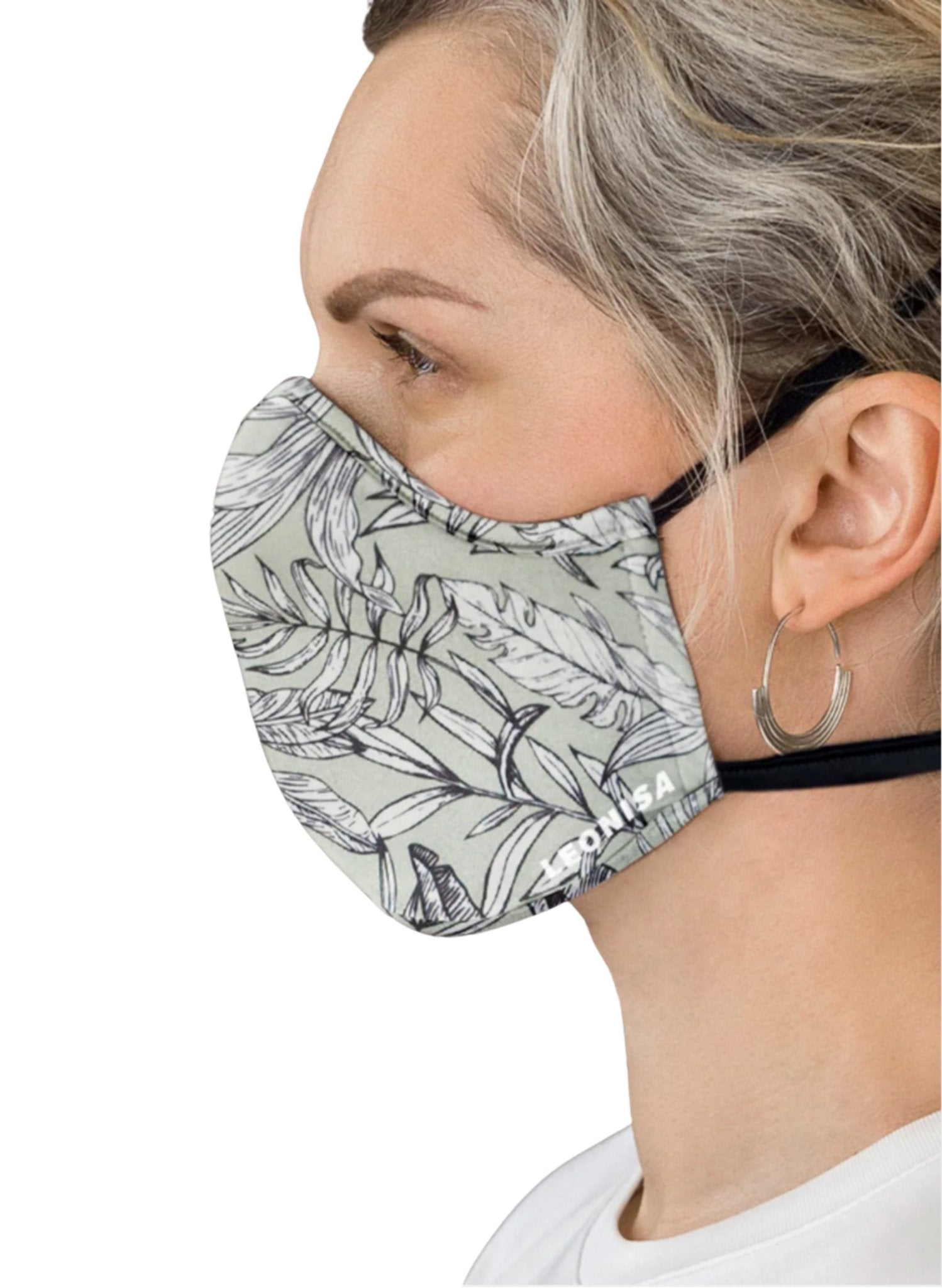 Adult's Face Mask – Triple-Layered Protection, Anti-Fluid and Antibacterial Technology - Green - Mums and Bumps