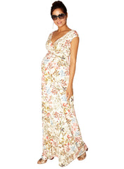 Alana Maternity Maxi Dress - Meadow - Mums and Bumps