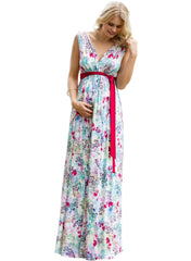 Anastasia Maternity Maxi Dress - Poppy - Mums and Bumps