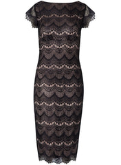 Astrid Shift Dress - Black - Mums and Bumps