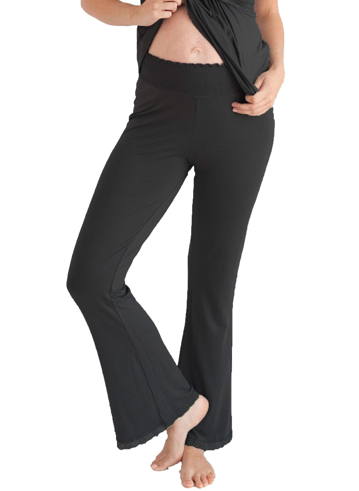 Before & After Maternity Loungepant - Black - Mums and Bumps