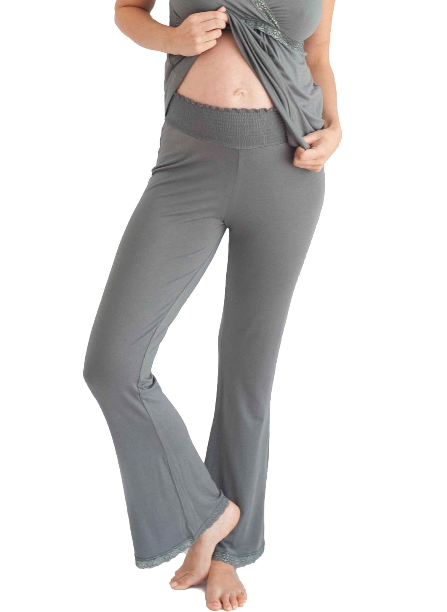 Before & After Maternity Loungepant - Grey - Mums and Bumps