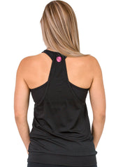 Breastfeeding Top - Loose Fit Tank Black - Mums and Bumps