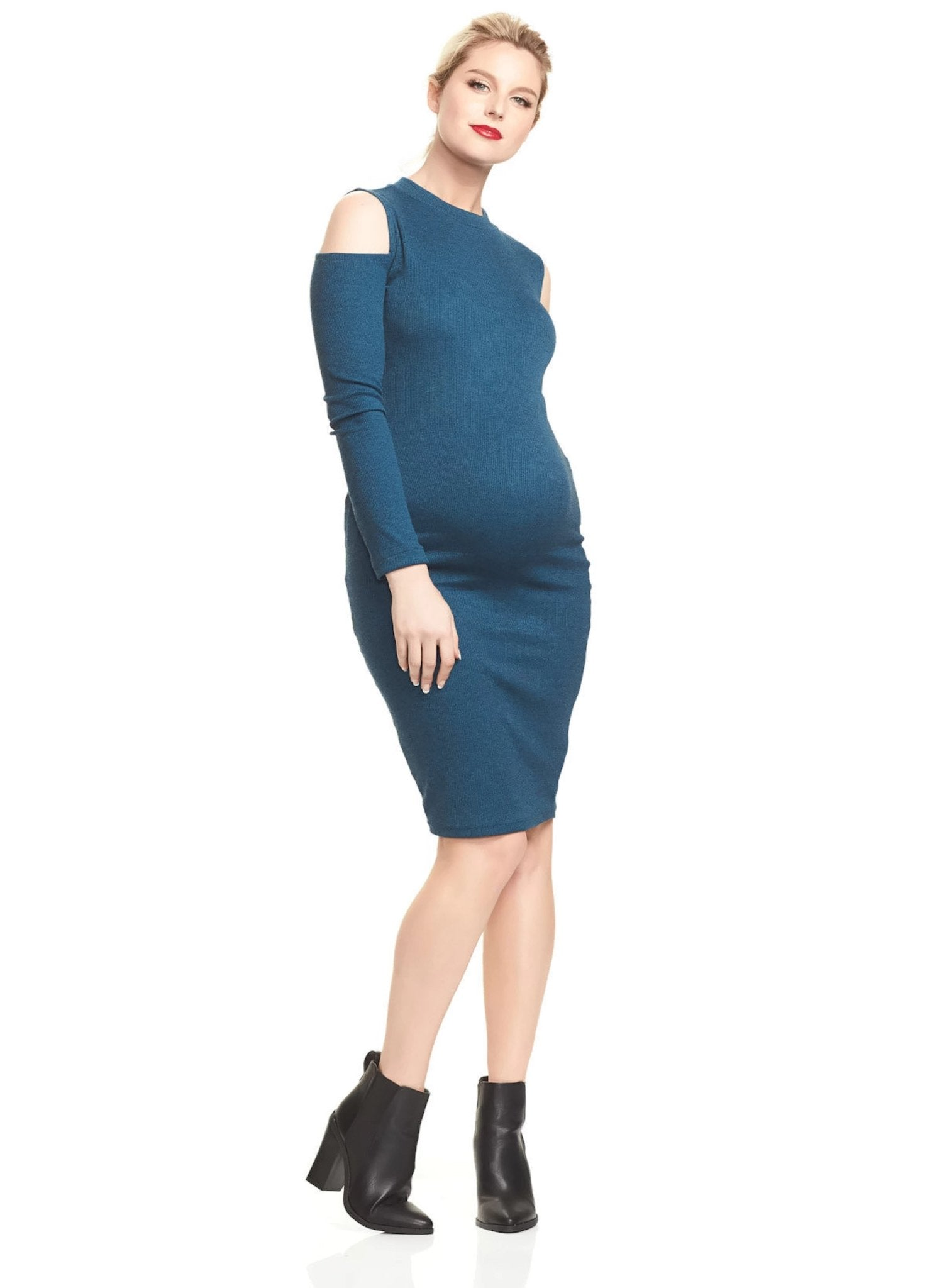 Casima Shoulder Maternity Dress - Mums and Bumps