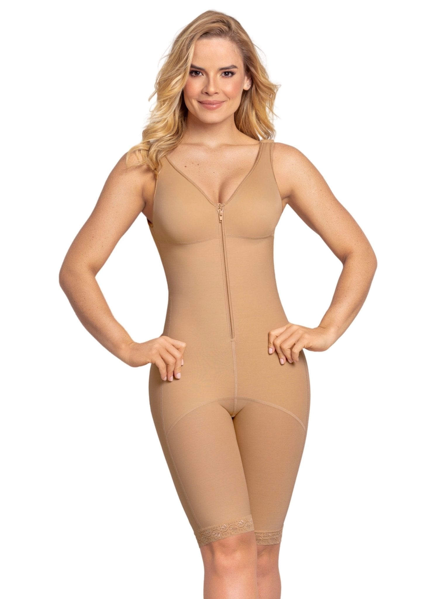 Full Bodysuit Slimming Shaper - Nude - Mums and Bumps