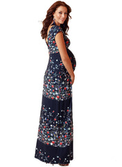 Gemma Maternity Maxi Dress - Boho Bloom - Mums and Bumps