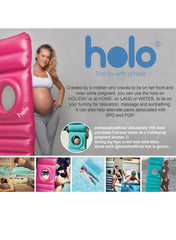 Holo Inflatable Lilo - Green - Mums and Bumps