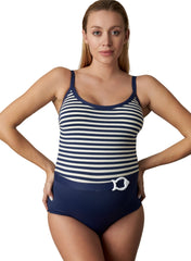 La Mer Navy One Piece Maternity Swimsuit - Mums and Bumps