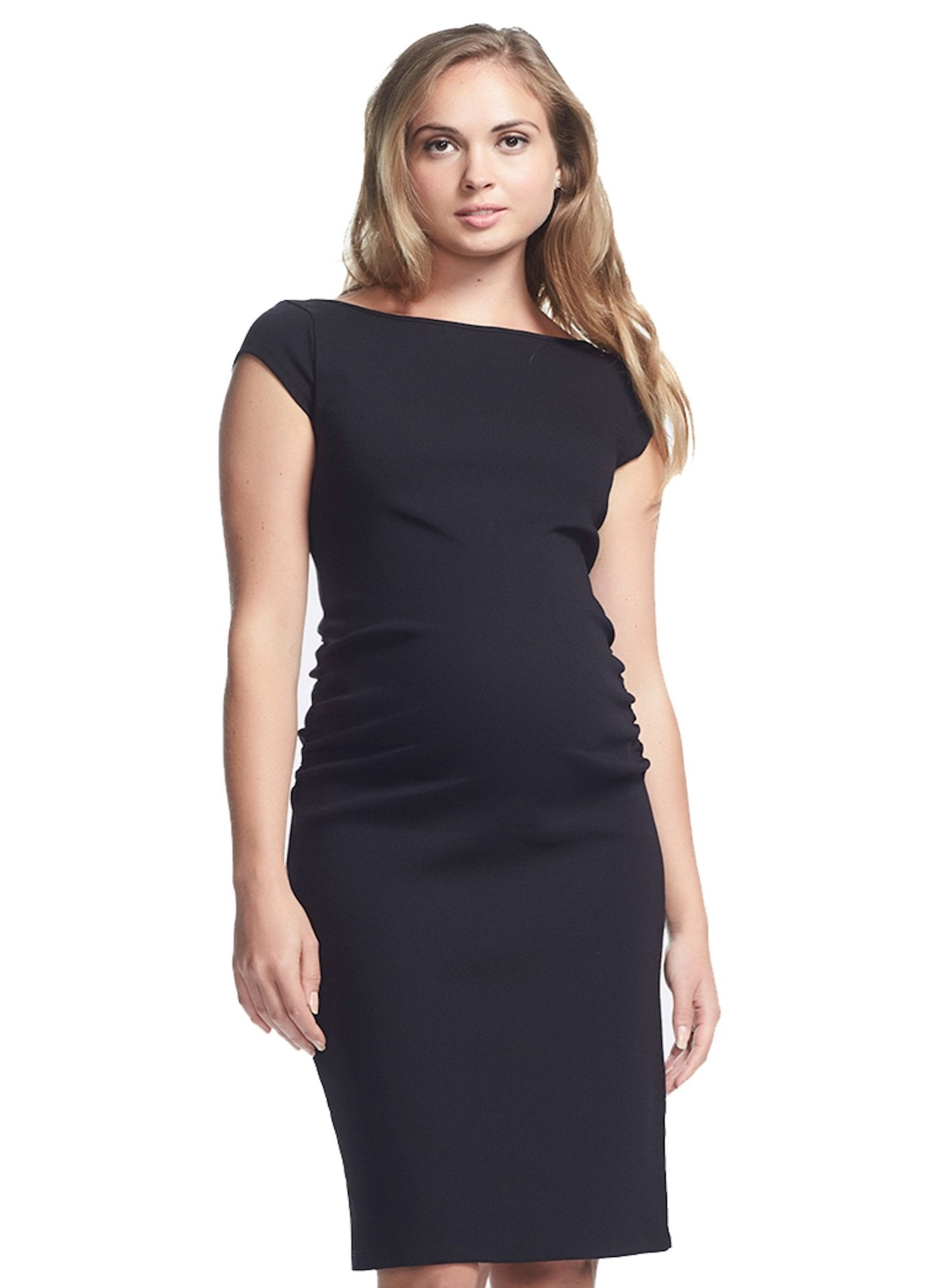 Leo Cap Sleeve Maternity Dress - Mums and Bumps