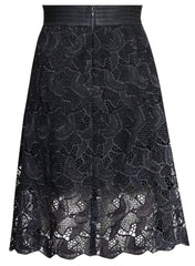 Lucy Knee Length Maternity Skirt - Mums and Bumps