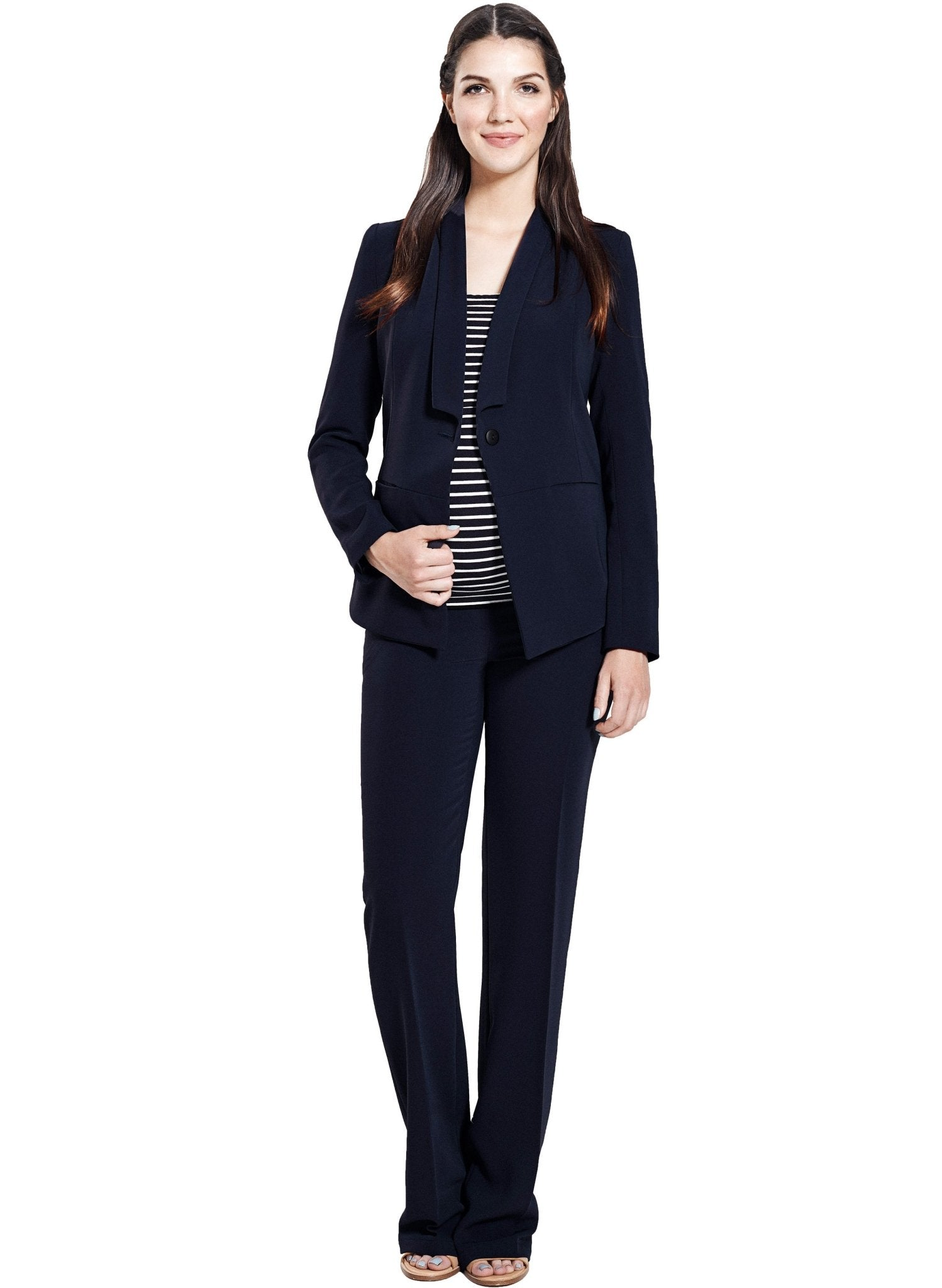 Maternity 2-Piece Suit - Blue - Mums and Bumps