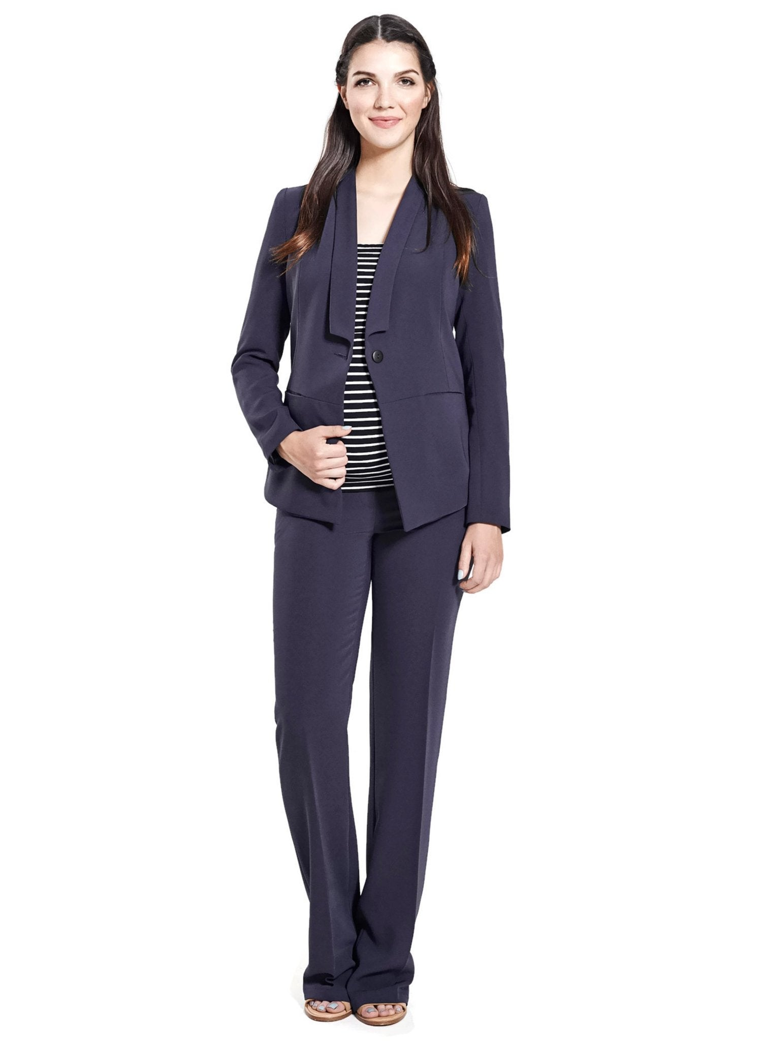 Maternity 2-Piece Suit - Midnight Blue - Mums and Bumps