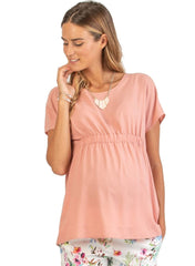 Maternity Blouse with Elastic Bands - Mums and Bumps
