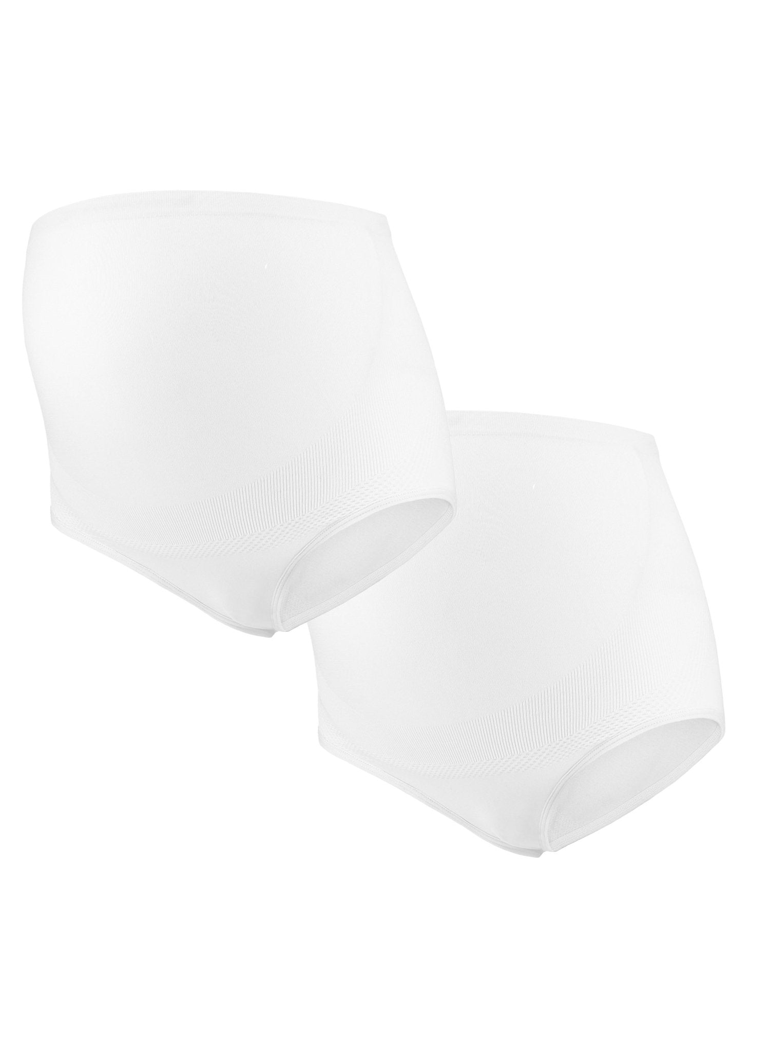 Maternity Brief Combo (2PCs) - White - Mums and Bumps