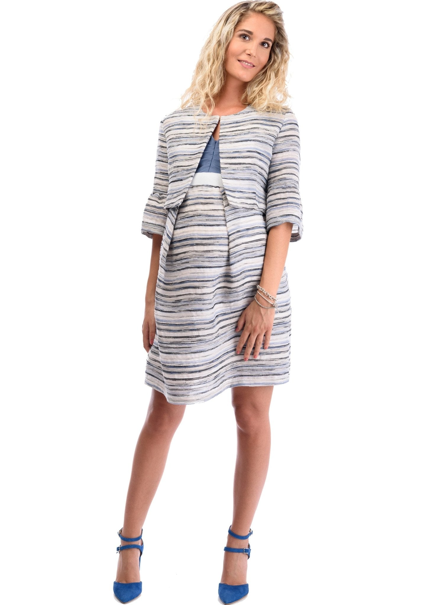 Maternity Dress with Jacket (2-Piece) - Mums and Bumps